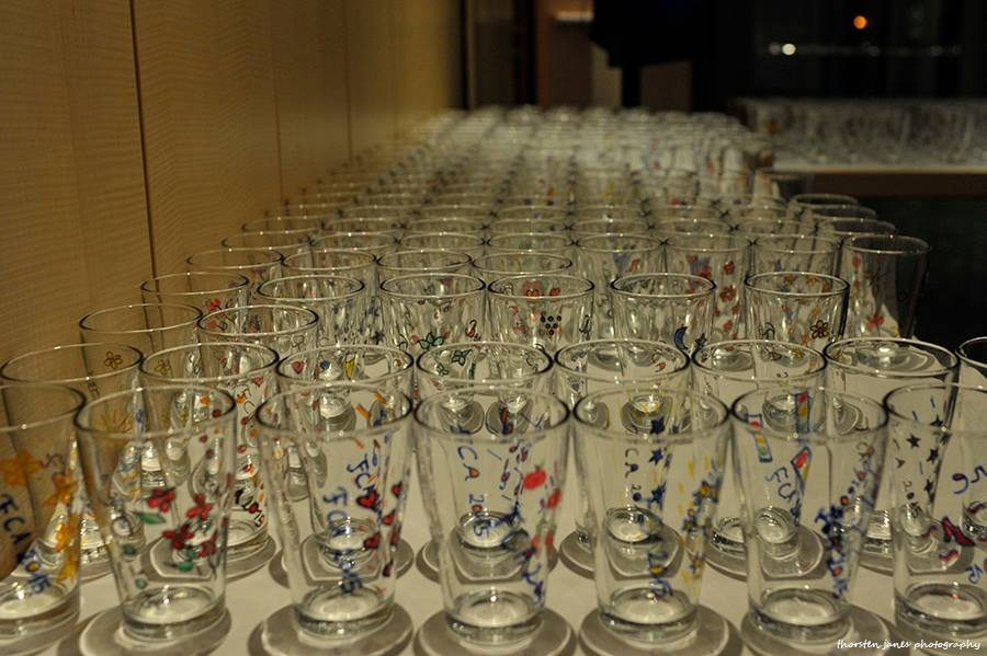FCA: Glasses for every guest at edition 2015