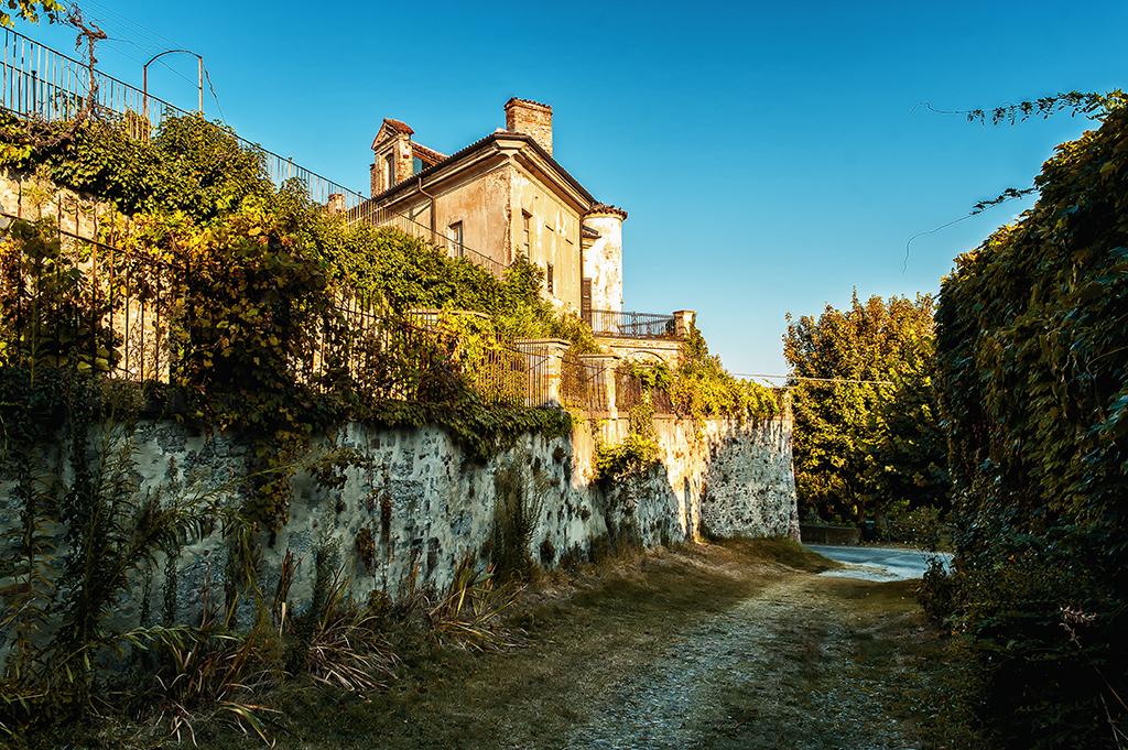 Outside the castle walls