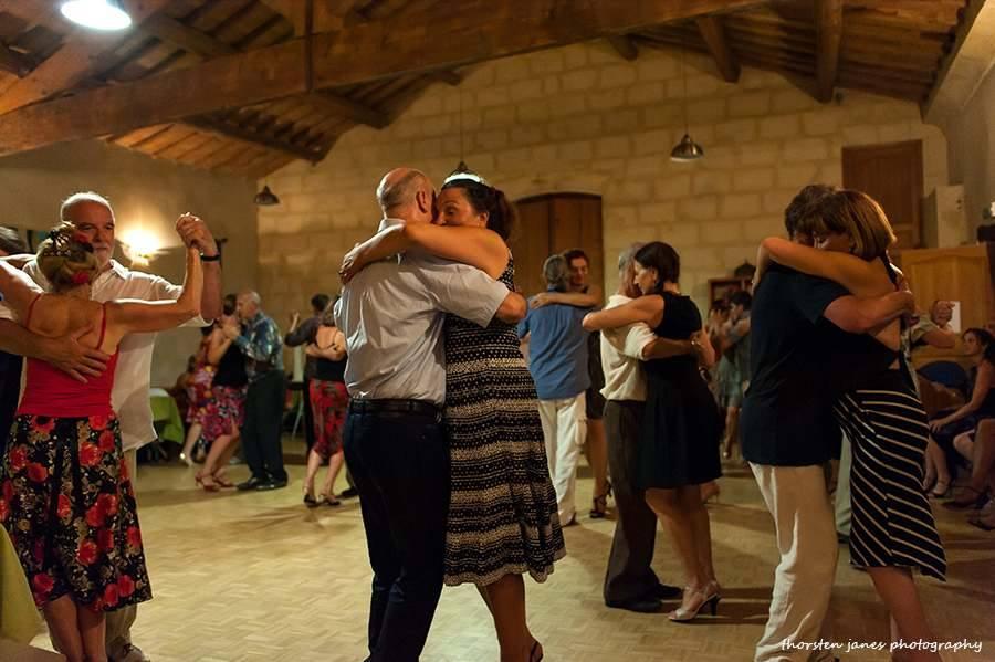 Dancers at Gran Milonga @ Mas de Mestre
