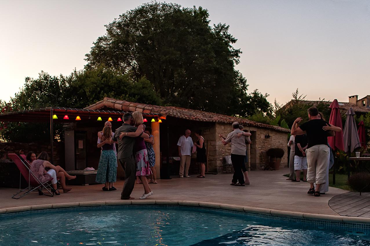 Dancing @ the pool