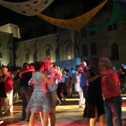 Outdoor Milonga in Nîmes